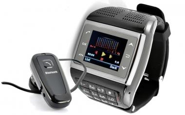 """Мобильный телефон-часы """"Пантера"""" с сенсорным экраном и клавиатурой"""